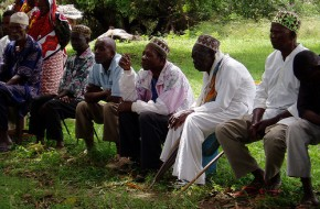 Meeting in Kenya, on the coast